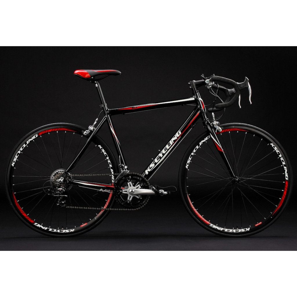 KS Cycling Rennrad »Euphoria«, 14 Gang Shimano Tourney Schaltwerk, Kettenschaltung