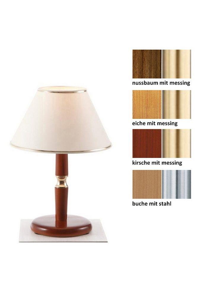 Tischleuchte (1-flg.), in 4 Farben, Laue Leuchten