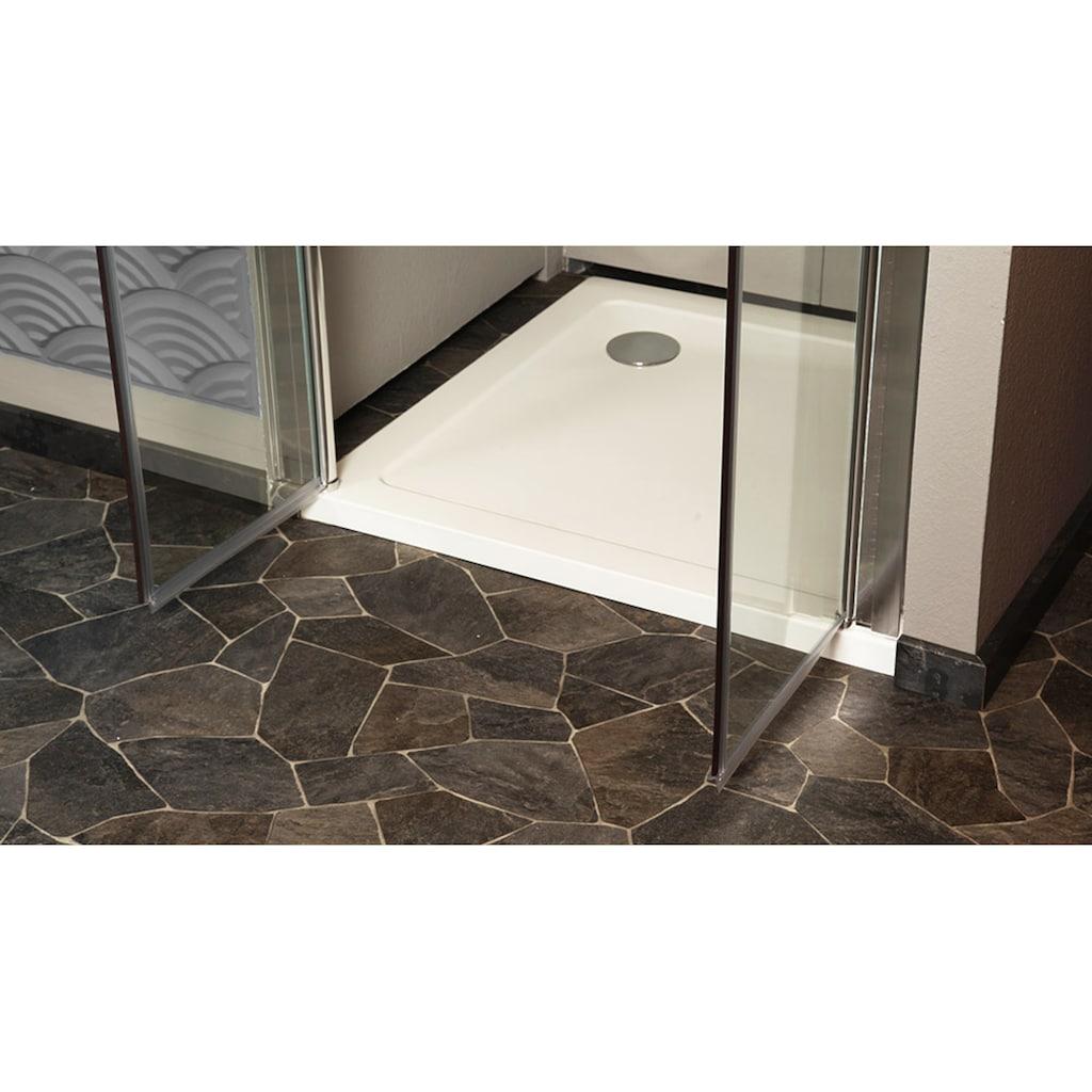 HOME DELUXE Dusch-Pendeltür »Lavea«, Klarglas