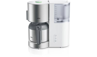 Braun Filterkaffeemaschine ID Collection KF 5105 WH weiß kaufen