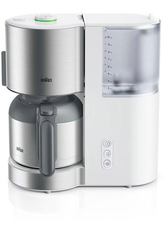 Braun Filterkaffeemaschine ID Collection KF 5105 WH weiß kaufen