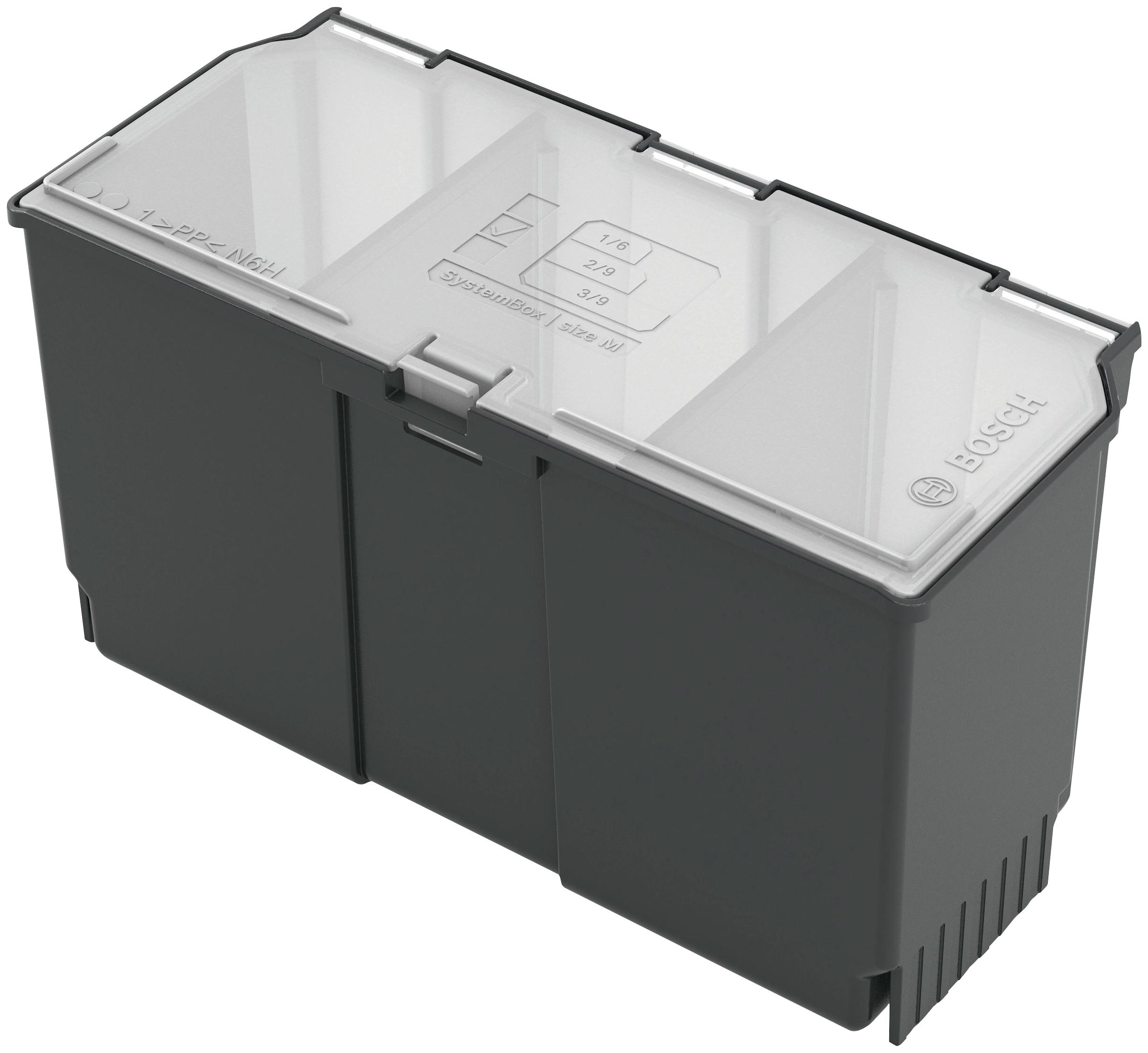 BOSCH Aufbewahrungsbox Zubehörbox mittel, (1 St.) schwarz Kleideraufbewahrung Aufbewahrung Ordnung Wohnaccessoires
