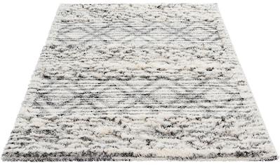 Sehrazat Hochflor-Teppich »Bahama 8816«, rechteckig, 30 mm Höhe, Hoch-Tief-Struktur,... kaufen