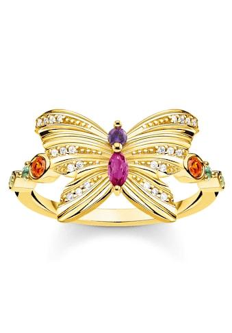 THOMAS SABO Fingerring »Schmetterling gold, TR2285-488-7-52, TR2285-488-7-54,... kaufen