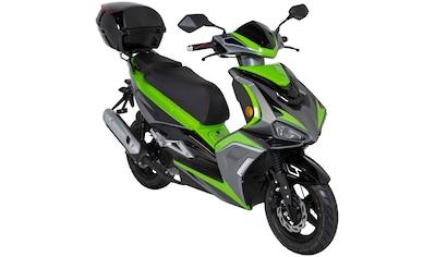 GT UNION Mofaroller »Striker«, 50 cm³, 25 km/h, Euro 5, 2,5 PS, inkl. Topcase kaufen