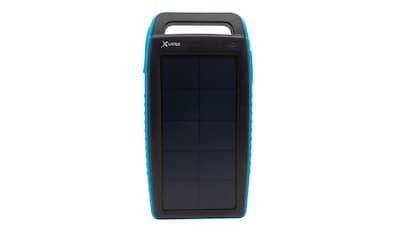 XLAYER Zusatzakku »Powerbank PLUS Solar Black/Blue 15000mAh Smartphon« kaufen