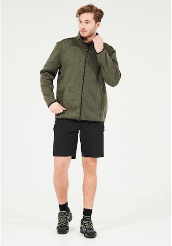WHISTLER Fleecejacke »Sampton M Melange Fleece Jacket«, aus schnell trocknenden... kaufen