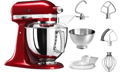KitchenAid Küchenmaschine »Artisan 5KSM175PSECA liebesapfel-rot«, mit Zubehör im Wert von ca. 112,-€ UVP kaufen