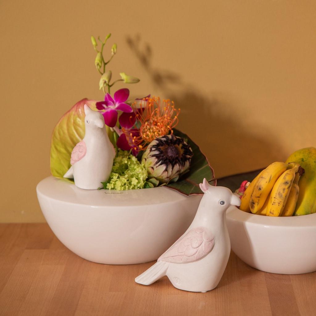 VALENTINO Wohnideen Tierfigur »Papagei Marle«, aus Keramik