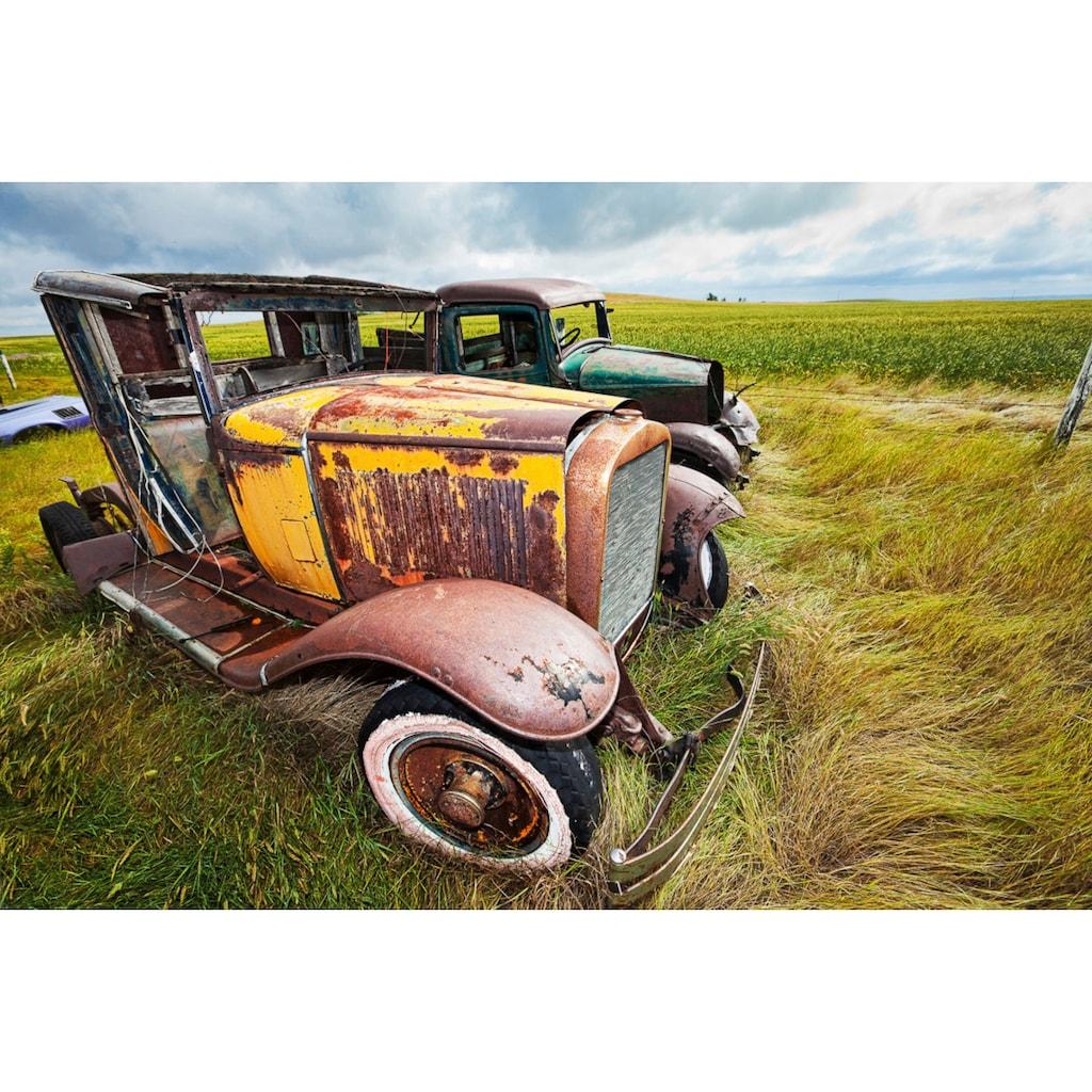 Papermoon Fototapete »Oldtimer«, Vliestapete, hochwertiger Digitaldruck