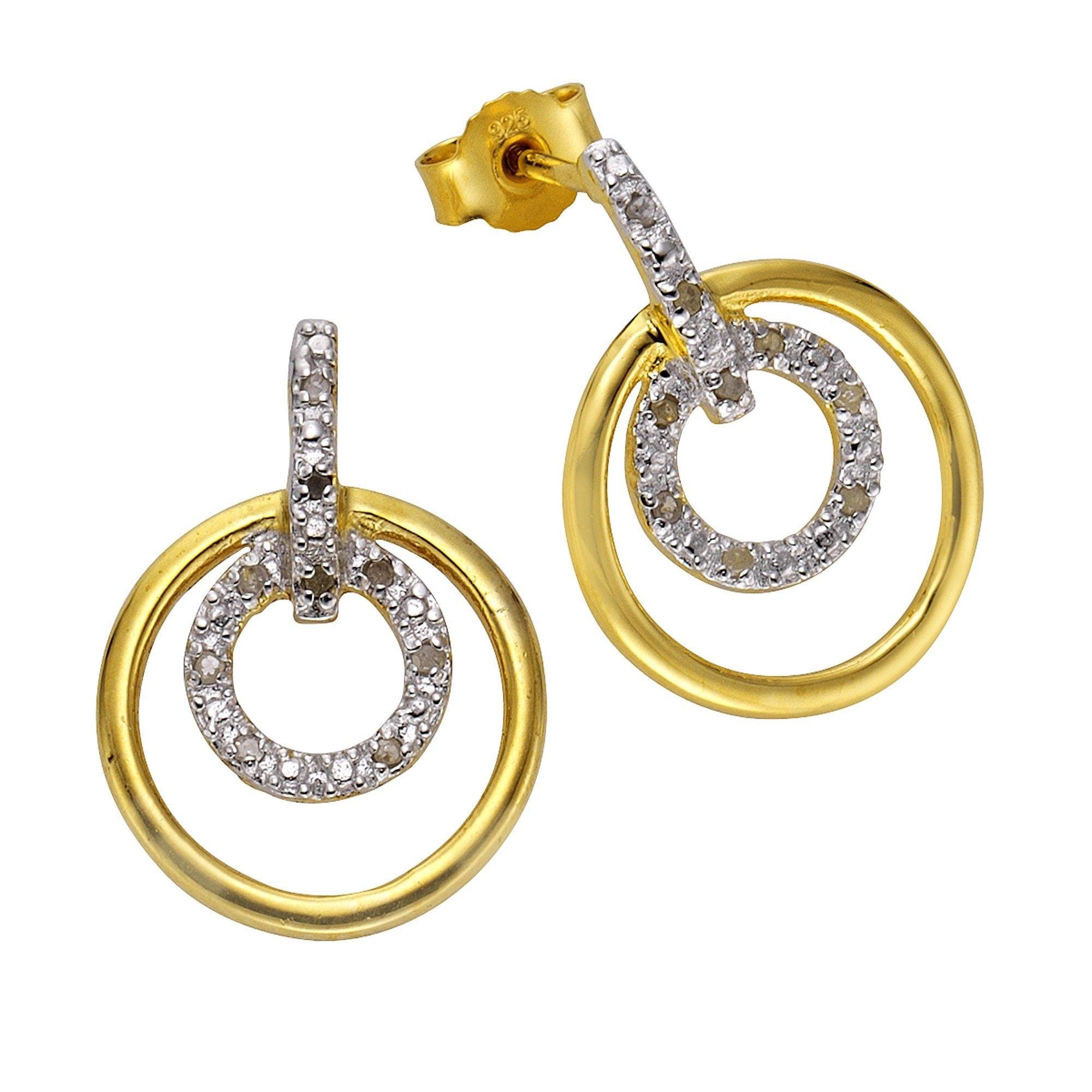 Diamonds by Ellen K Ohrstecker 925/- Sterling Silber Diamanten | Schmuck > Ohrschmuck & Ohrringe > Ohrstecker | Weiß | Diamonds By Ellen K.