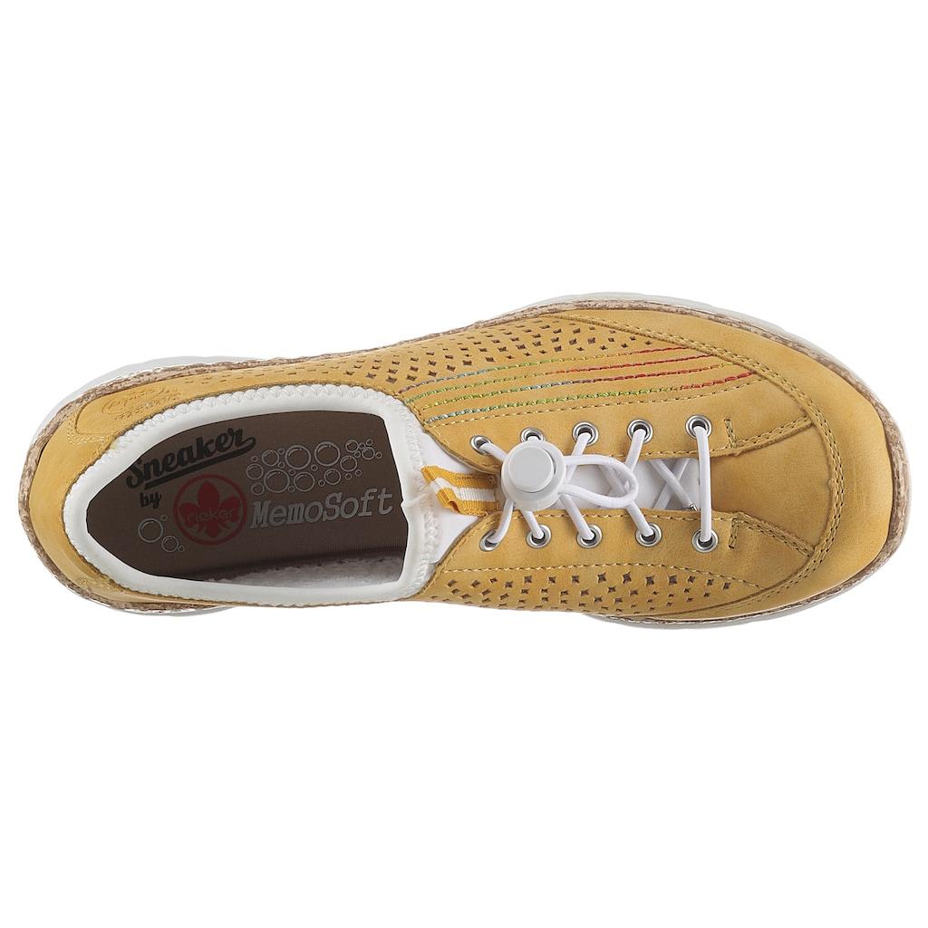 Rieker Slip-On Sneaker, mit Stretch-Einstieg