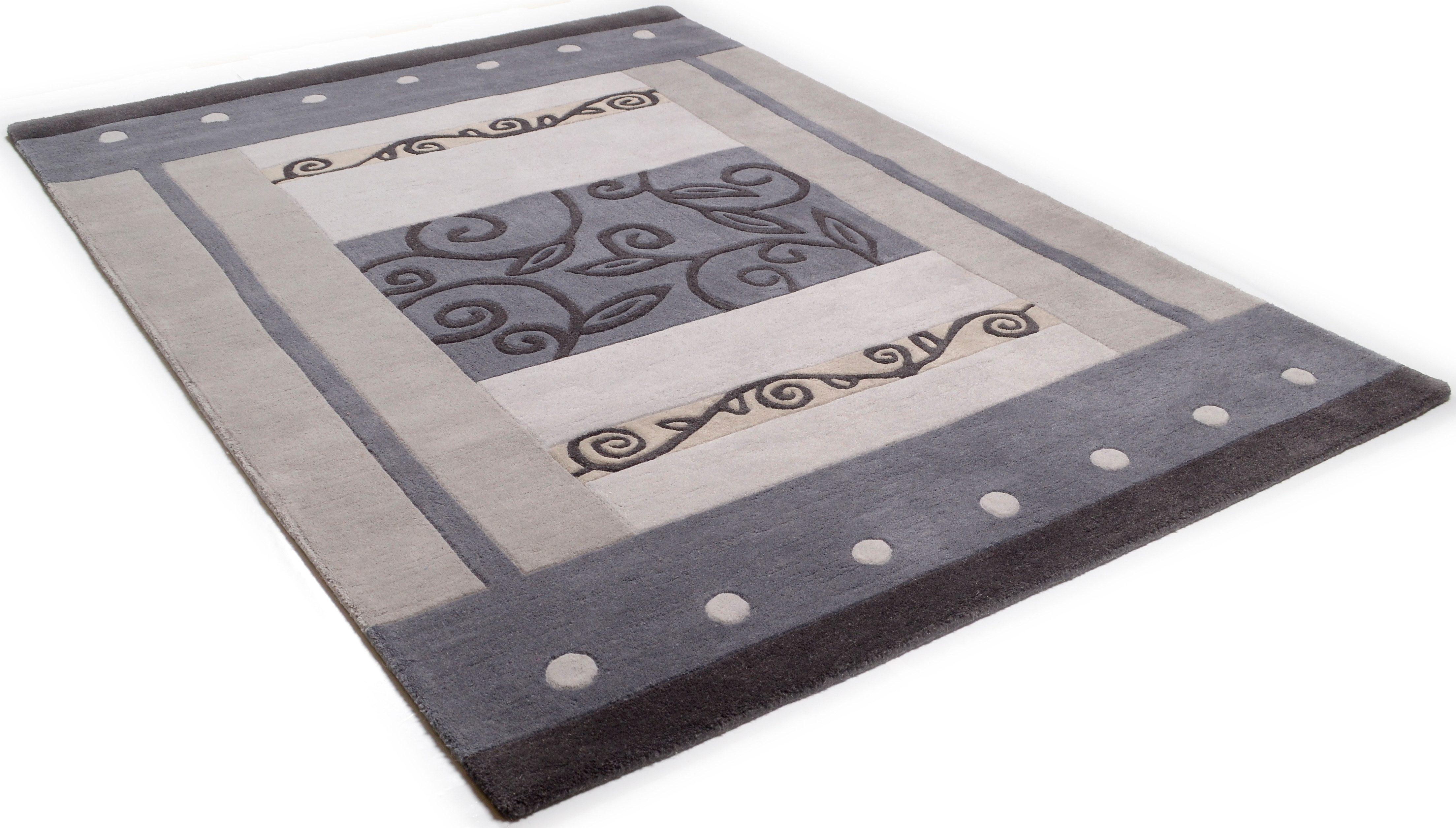 Teppich Laura THEKO rechteckig Höhe 14 mm handgetuftet