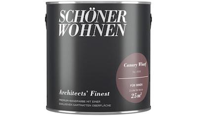 SCHÖNER WOHNEN FARBE Wand -  und Deckenfarbe »Architects' Finest  -  Canary Wharf«, 2 l kaufen