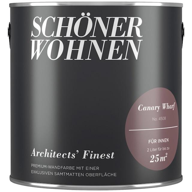 SCHÖNER WOHNEN FARBE Wand- und Deckenfarbe »Architects' Finest - Canary Wharf«, 2 l
