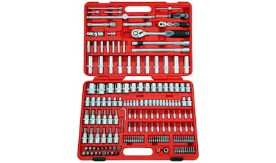 FAMEX Werkzeugset »525-SD-21«, (Set, 172 St.), im Werkzeugkoffer kaufen
