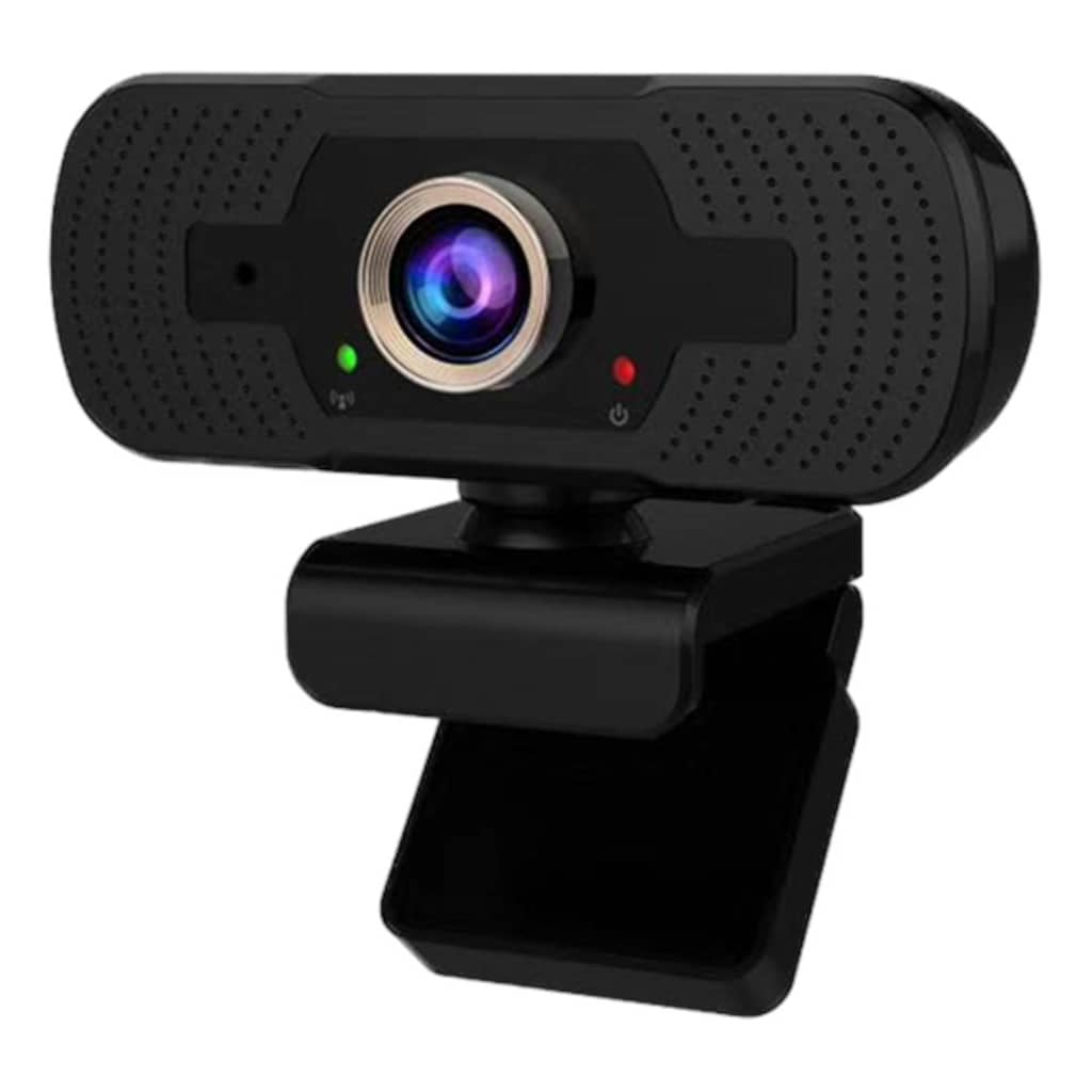 DELTACO Webcam »Tris 1080P Webcam«, Full HD, USB-Anschluss, Videokonferenz, Streaming