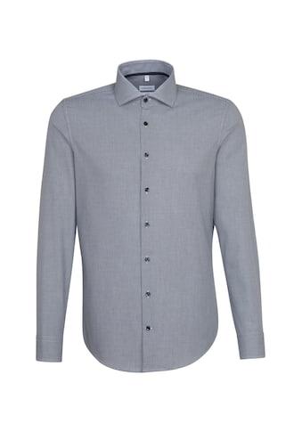 seidensticker Businesshemd »X-Slim«, X-Slim Langarm Kentkragen Karo kaufen