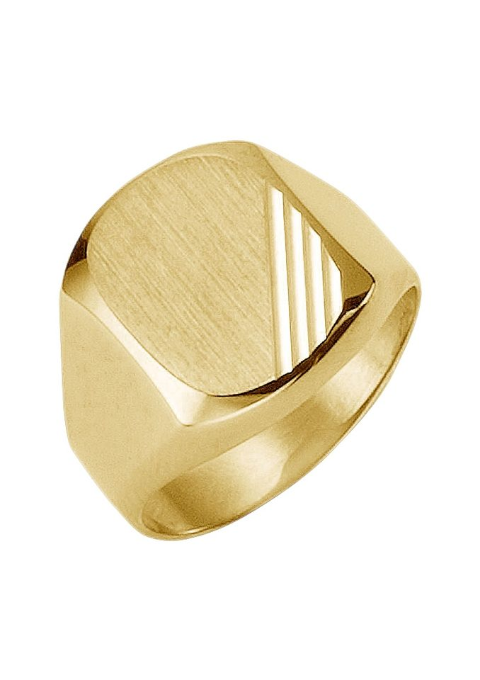 Firetti Siegelring diamantiert | Schmuck > Ringe > Siegelringe | Goldfarben | Firetti