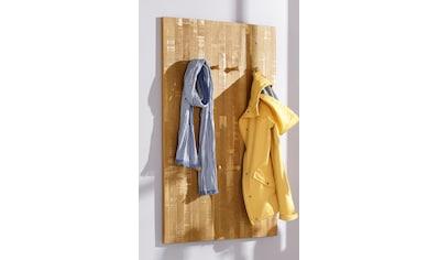 Home affaire Garderobenpaneel »Rondo«, mit 8 massivem Holzhaken, im Shabby-Look,... kaufen