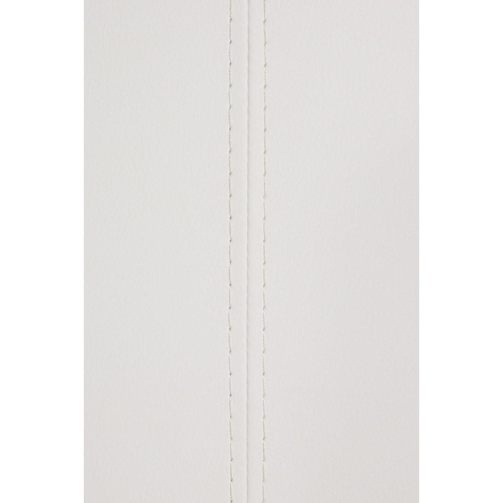 MCA furniture Polsterbank »Arco«, (1 St.), belastbar bis 280 kg, Kunstleder, in verschiedenen Breiten