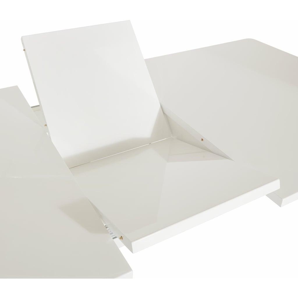 Esstisch, mit Butterfly-Auszug, Breite 160 cm