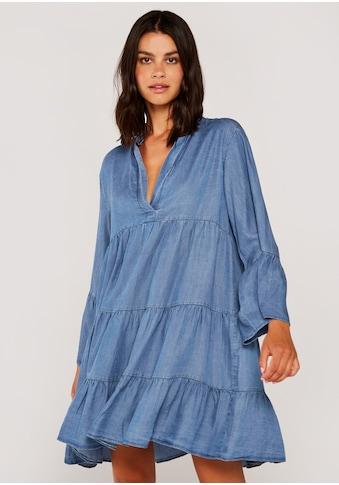 Apricot Minikleid »Light Denim Babydoll Dress«, Mit Faltenlegung kaufen
