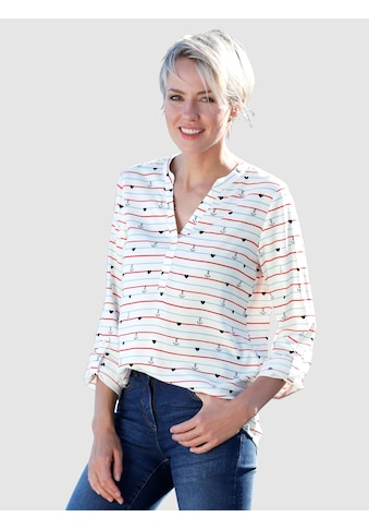 Dress In Tunika mit Streifendruck kaufen