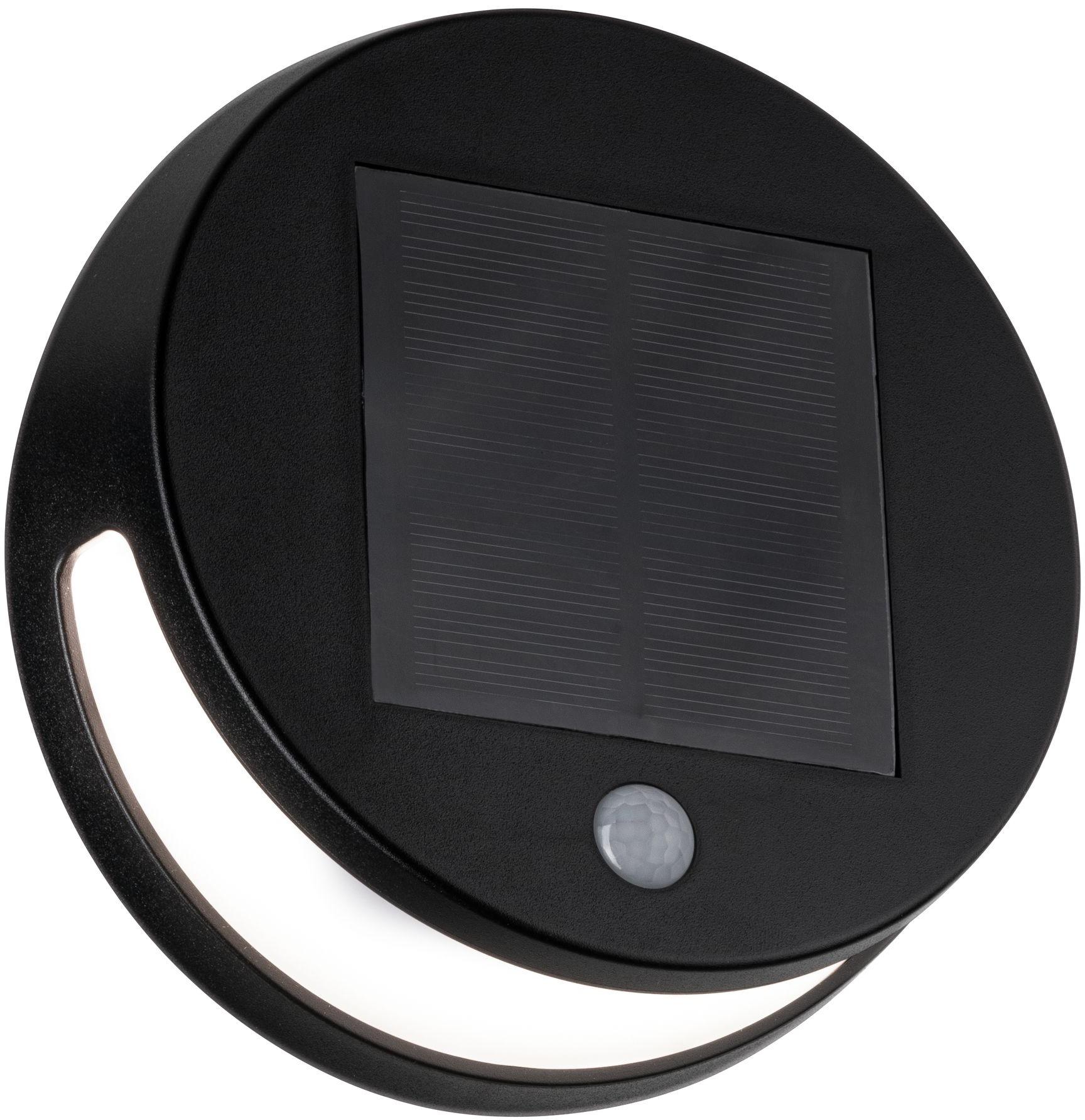 Paulmann LED Außen-Wandleuchte Helena, LED-Board, 1 St., Warmweiß, Solar, mit Bewegungsmelder