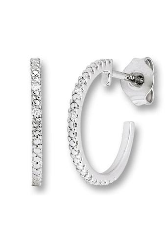 ONE ELEMENT Paar Ohrstecker »Ohrringe / Ohrstecker aus 585 Weißgold mit 0,02 ct Diamant« kaufen