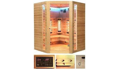 HOME DELUXE Infrarotkabine »Redsun XXL Deluxe«, 150x150x190 cm kaufen