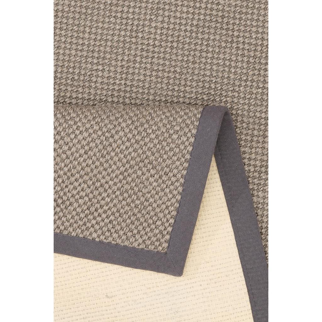 my home Sisalteppich »Franco«, rechteckig, 5 mm Höhe, echt Sisal, Wohnzimmer