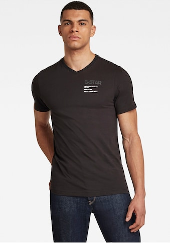 G-Star RAW V-Shirt »,G-star Chest Graphic Slim v t« kaufen