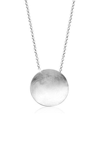 Nenalina Collierkettchen »Rund Kreis Gebürstet Trendig Collier 925 Silber« kaufen
