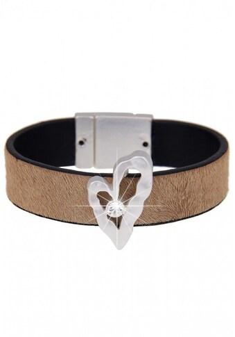 leslii Armband mit Kunstfellbesatz kaufen