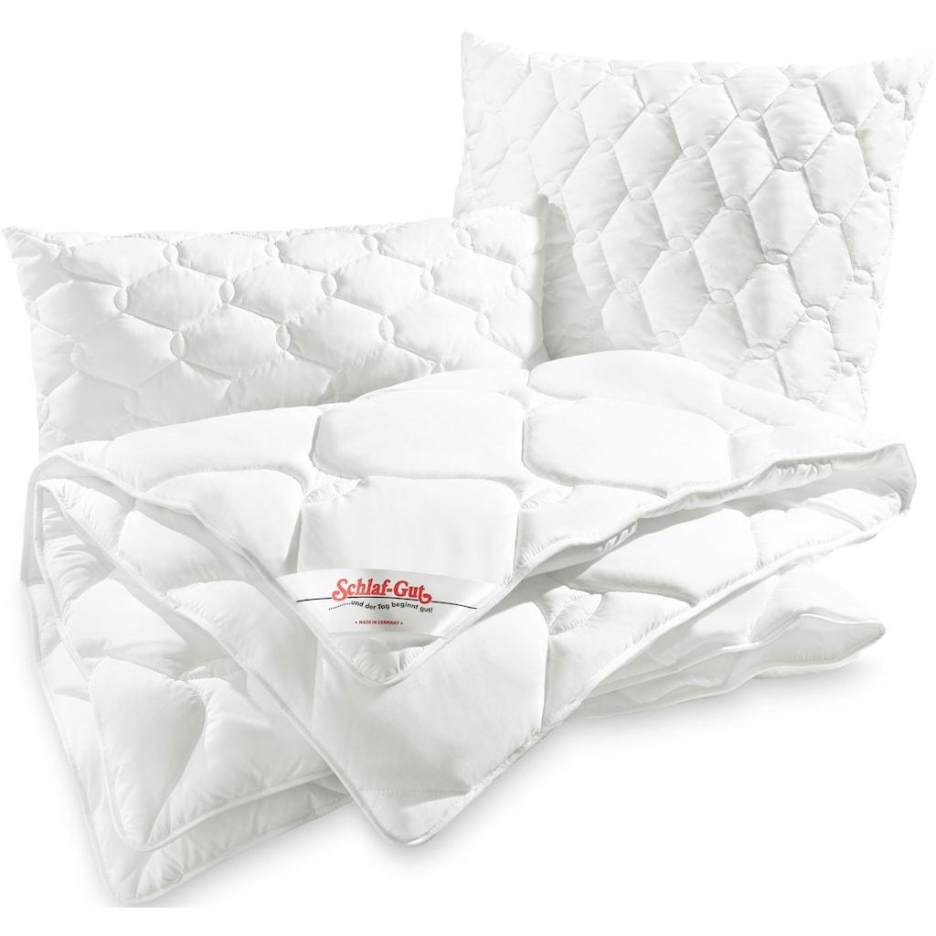 Schlaf-Gut Kunstfaserbettdecke »TENCEL™«, leicht, (1 St.), Bestes Feuchtigkeitsmanagement