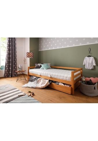 Lüttenhütt Komfortschaummatratze »Lixi Comfort«, (1 St.), Extra keine Zonierung der Matratze: so schläft Dein Kind immer gut, egal, wo es auf der Matratze liegt kaufen