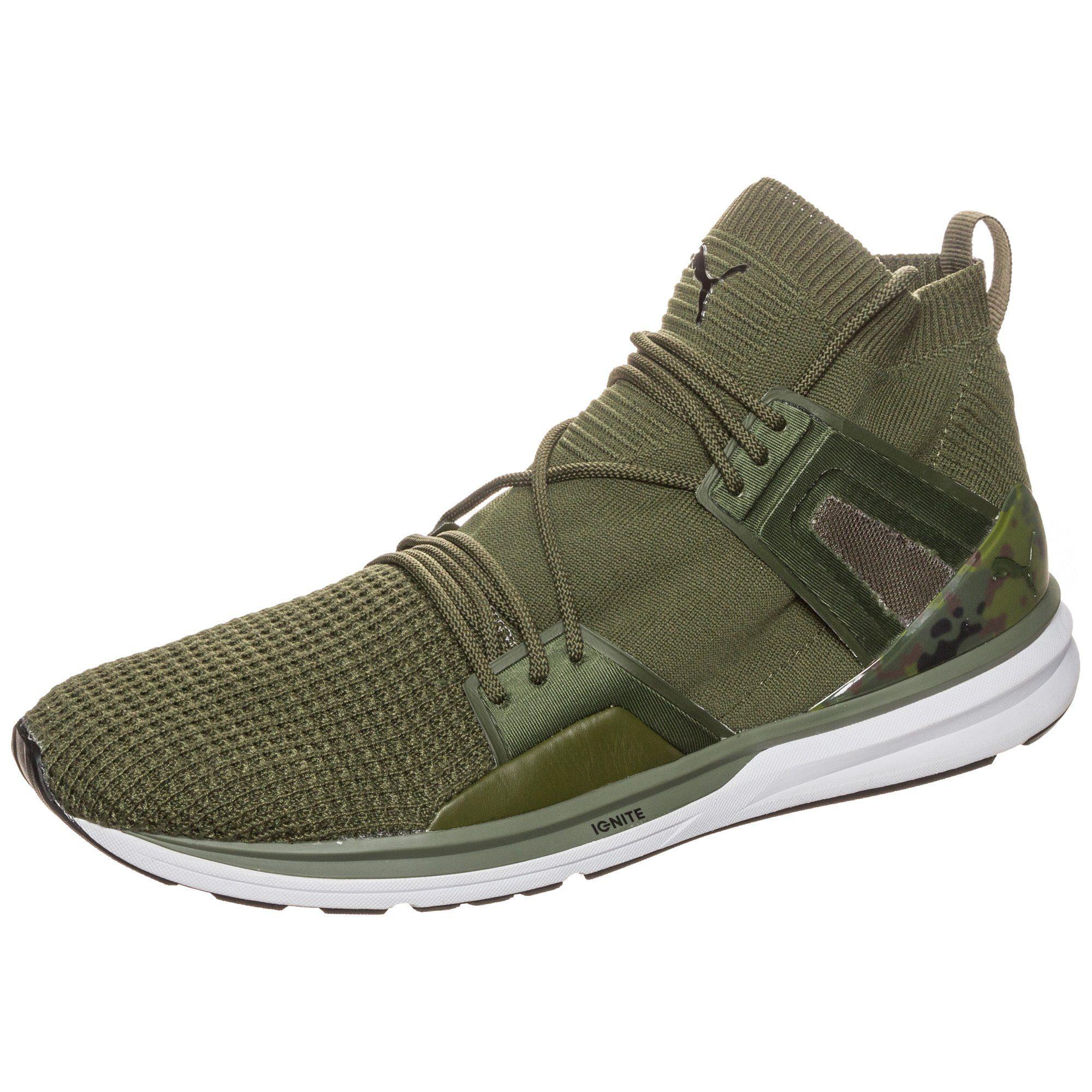 PUMA Sneaker »B.o.g Limitless High Waffleknit« | Schuhe > Sneaker > Sneaker high | Grün | Puma