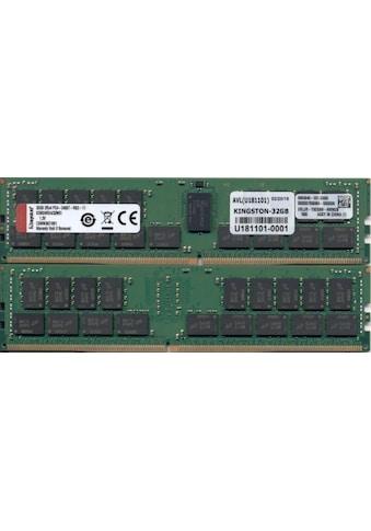 Kingston »DDR4.« PC - Arbeitsspeicher kaufen