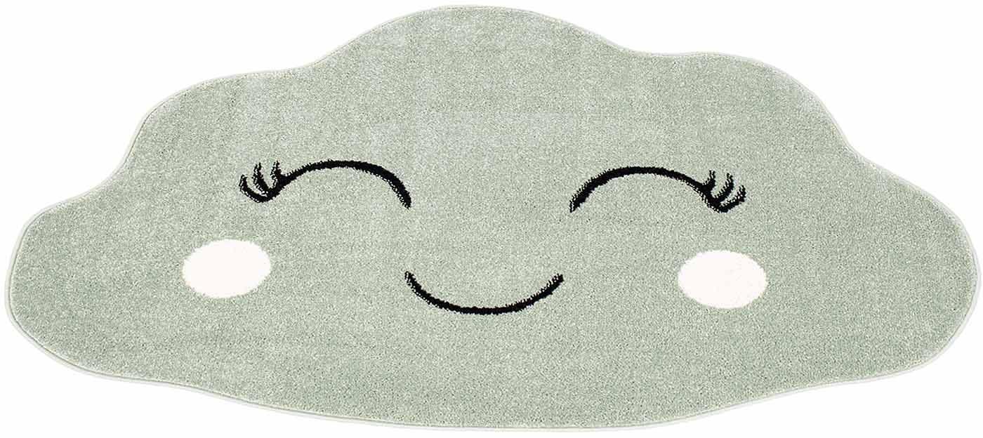 Kinderteppich Bubble Kids 1324-X Carpet City wolkenförmig Höhe 12 mm maschinell gewebt