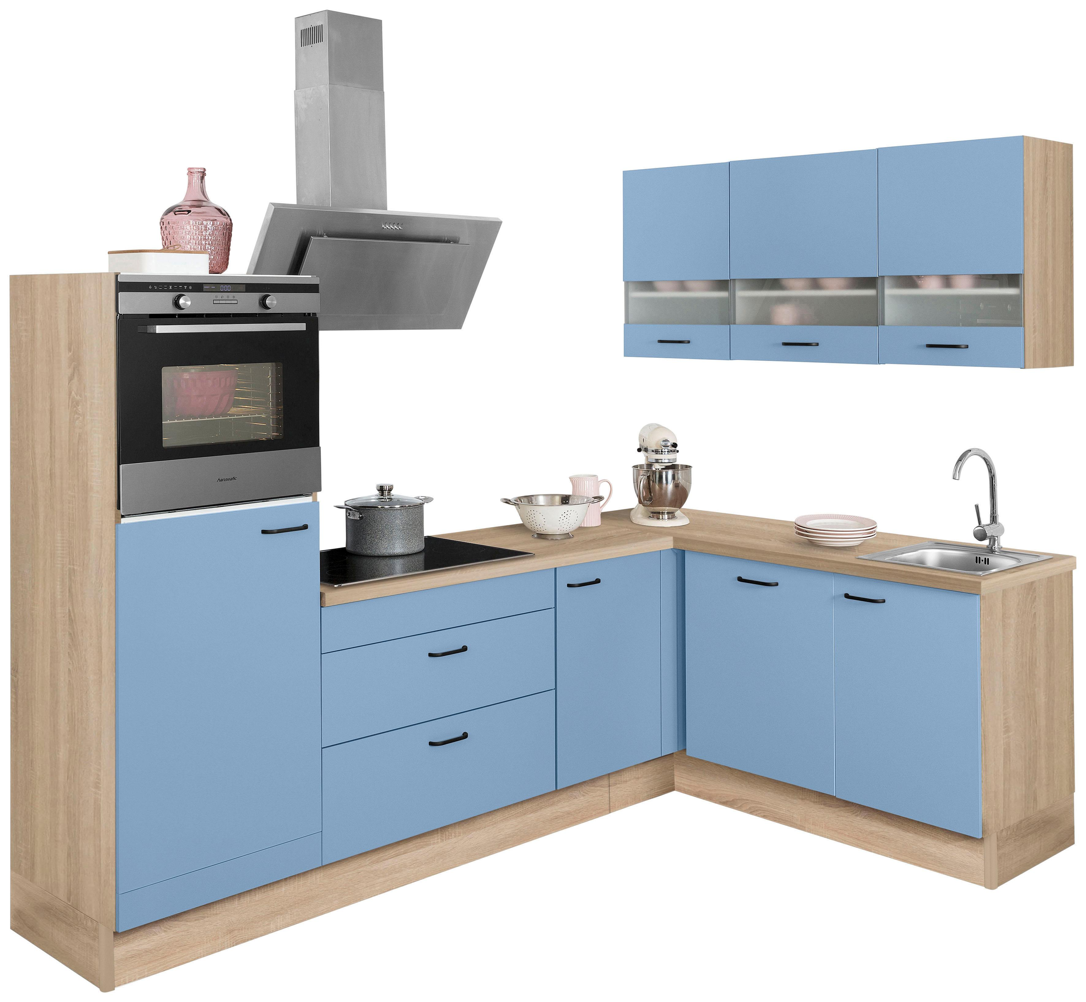 OPTIFIT Winkelküche Elga ohne E-Geräte Stellbreite 265 x 175 cm