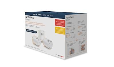 Netatmo »Smarter Heizkörperthermostat 3er Bundle« Smart - Home - Station kaufen