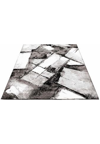 Carpet City Teppich »Moda 1135«, rechteckig, 11 mm Höhe, Kurzflor, Wohnzimmer kaufen