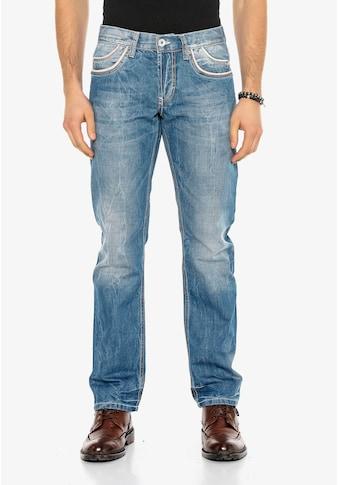 Cipo & Baxx Bequeme Jeans, im Regular Fit kaufen