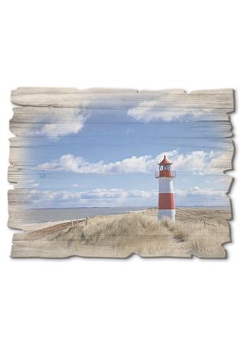 Artland Holzbild »Leuchtturm Sylt« kaufen