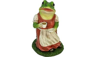 Home affaire Tierfigur »Frau Frosch im Kleid trinkt Kaffee« kaufen