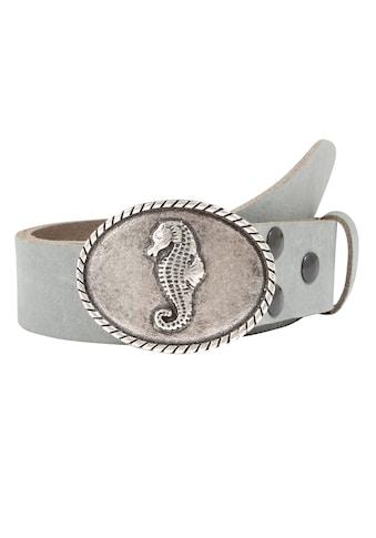 RETTUNGSRING by showroom 019° Ledergürtel, mit austauschbarer Seepferdchen-Schließe... kaufen