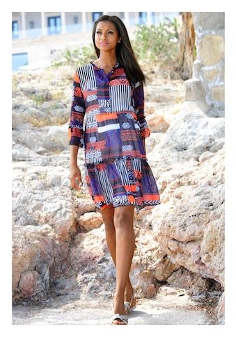 Alba Moda Strandkleid mit Stehkragen kaufen