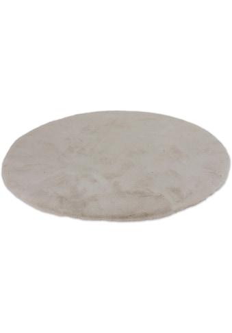 SCHÖNER WOHNEN-Kollektion Fellteppich »Tender«, rund, 26 mm Höhe, besonders weich durch Microfaser, Kunstfell, waschbar, Wohnzimmer kaufen