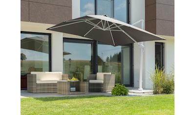 Schneider Schirme Ampelschirm »Rhodos Twist Bianco«, mit Schutzhülle und... kaufen
